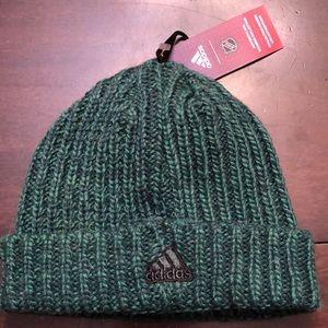 Adidas NHL Minnesota Wild knit hat.  New
